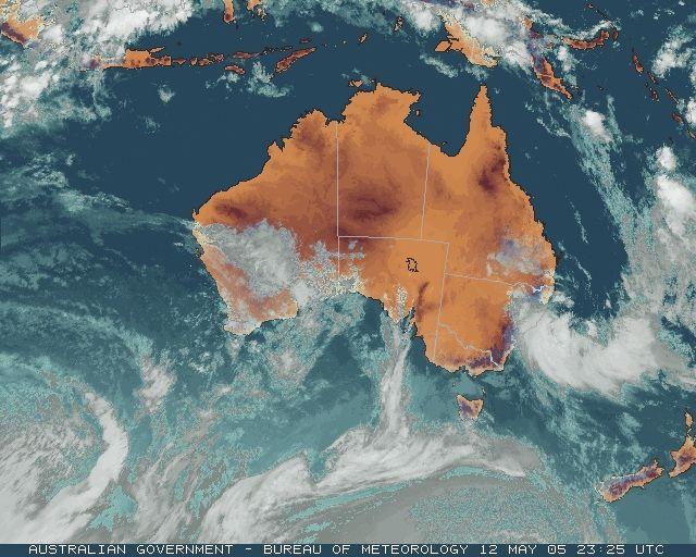 Australian Weather News -- 13 MAY 2005